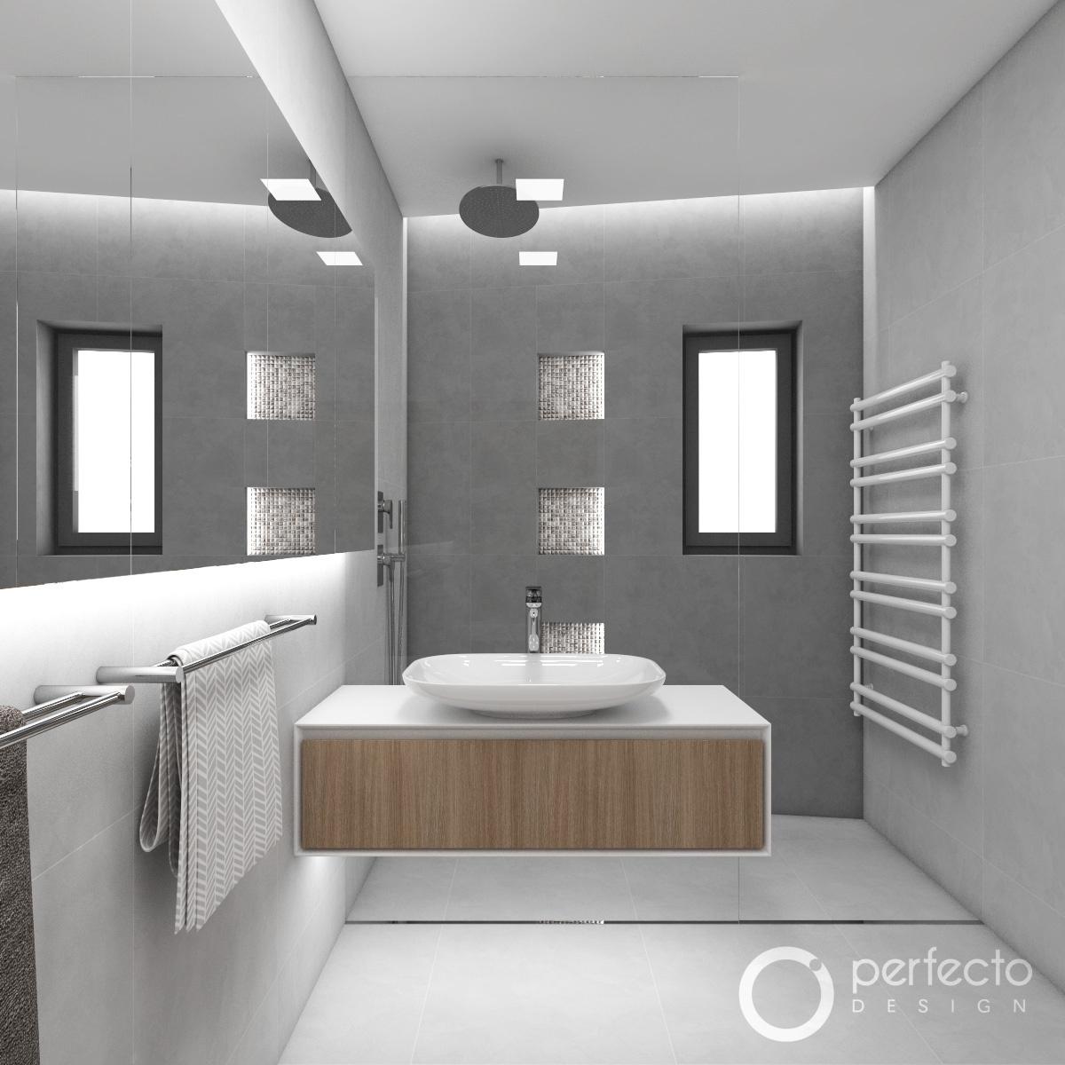 Modern koupelna chicago perfecto design - Moderne badezimmergestaltung ...